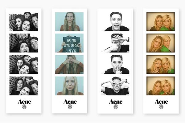 Acne Studios Photo Booth