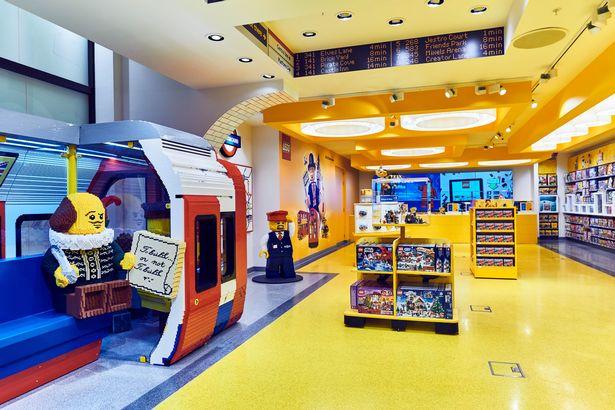 New Lego Store