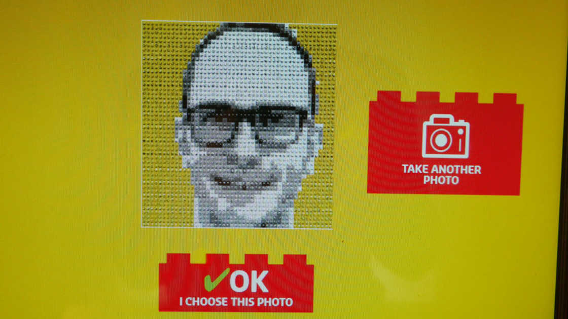 Lego Photo Booth Software Screen