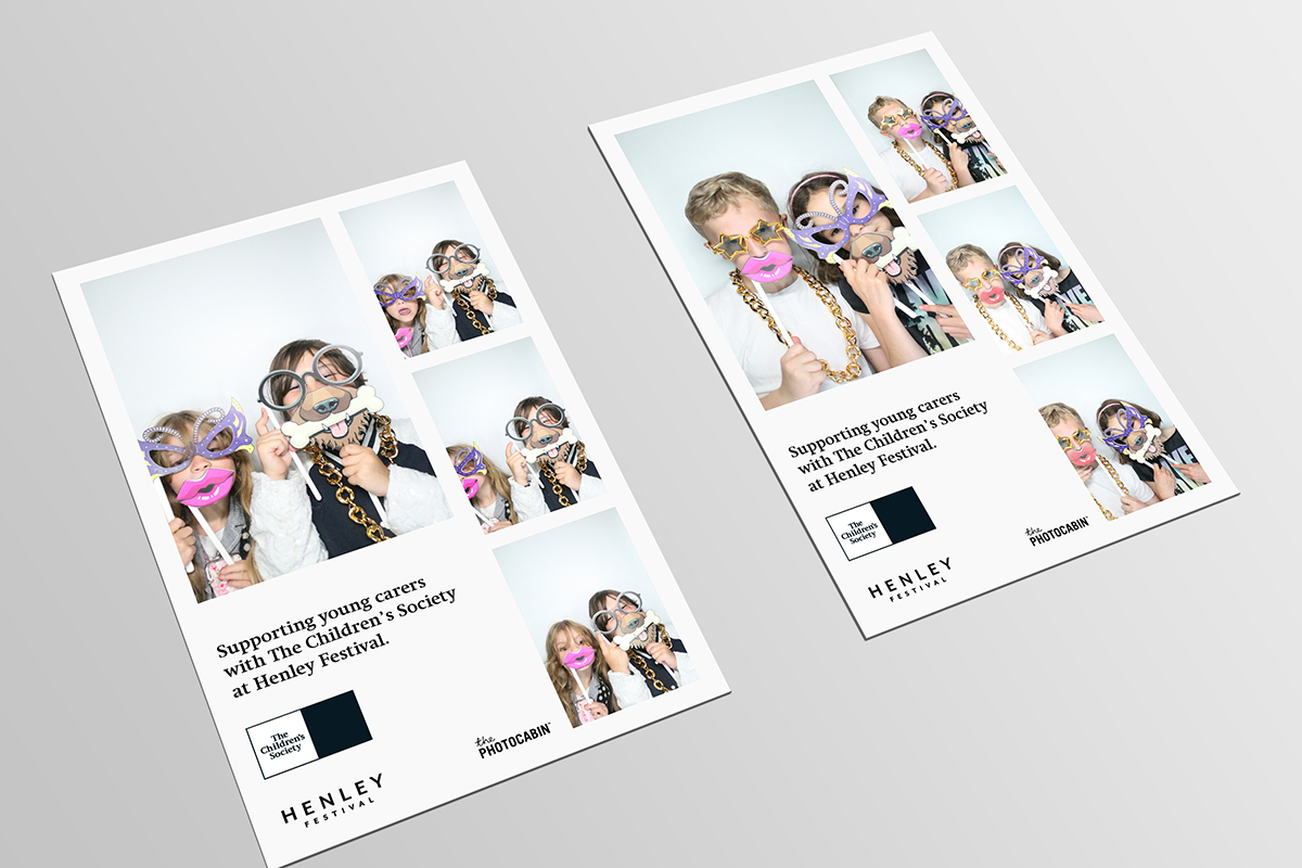 Children's Society at Henley Festival - Photo Booth Prints