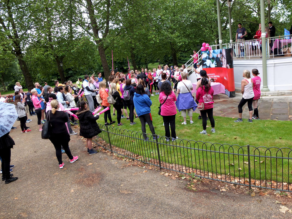 Steps for Jo Hyde Park 2016